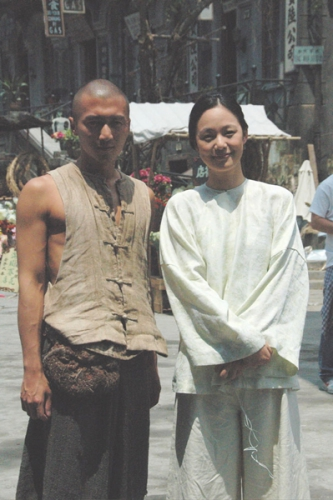 Nicholas Tse and Zhou Yun Love at First Sight